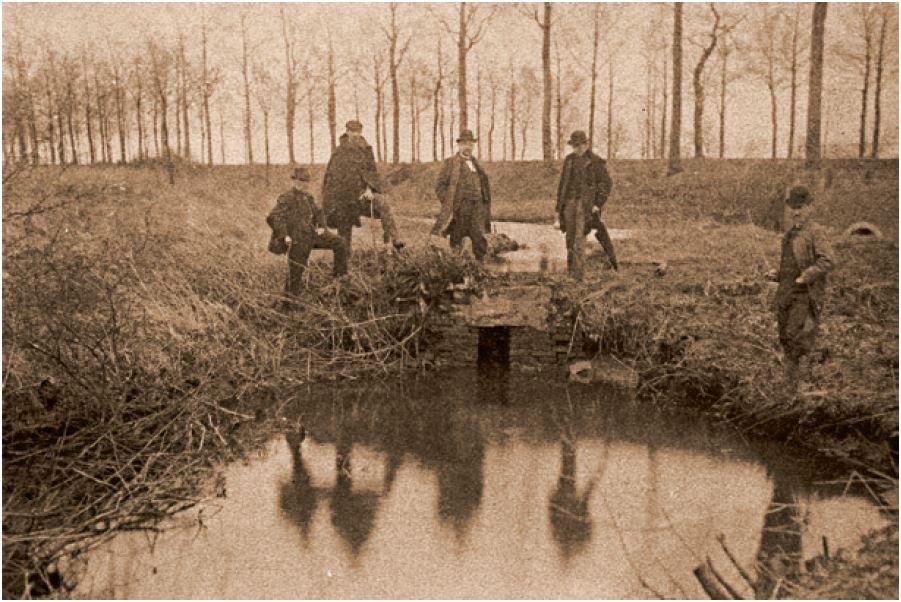 Historische foto Weerterbeek